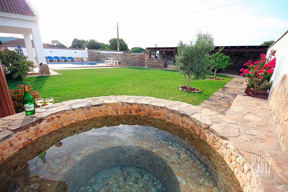 Zahorama, casa en alquiler Zahora con piscina
