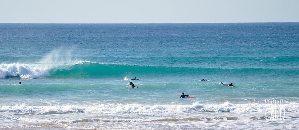 Clases de surf en el Palmar Cadiz