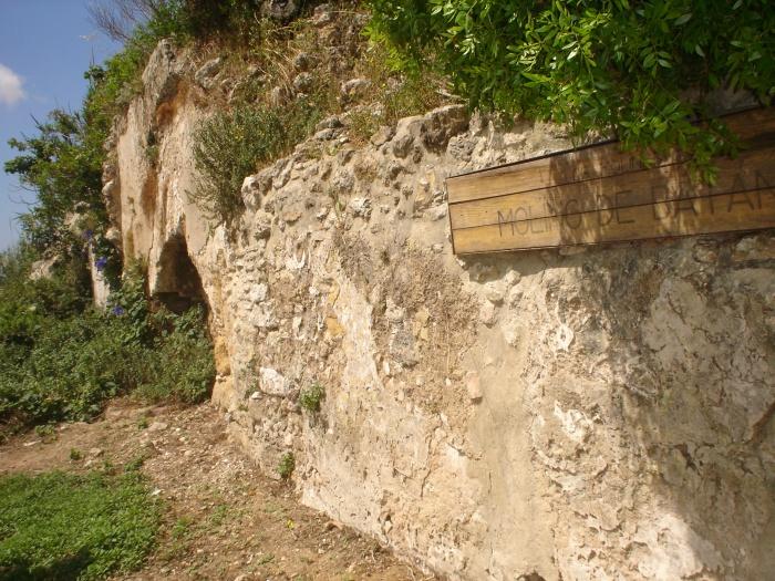 Molino de agua de Batán en Santa Lucía