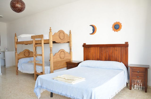 Casa anexa con cama matrimonial y litera