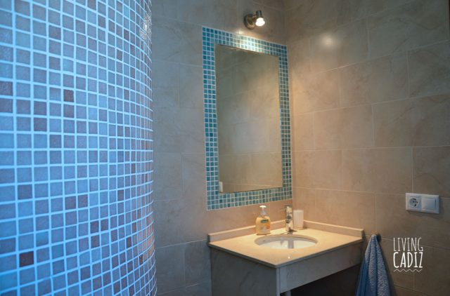 WC con ducha en casa Anexa