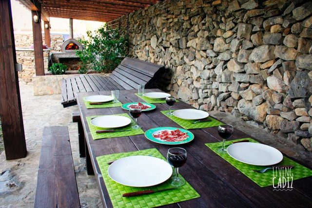 Pergola + cocina exterior