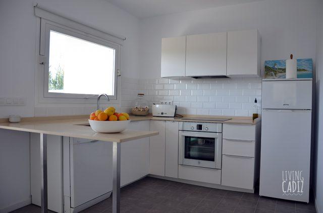 Cocina equipada: Horno, vitro, lavavajillas