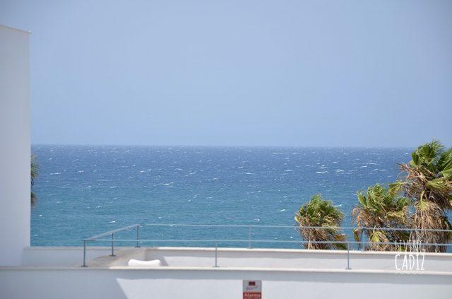 Vistas al mar desde terraza planta superior