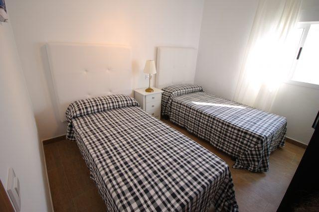 Dormitorio 1 con camas individuales